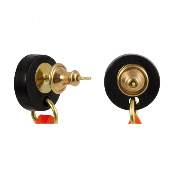 toolally_Bullet_Gold_earring