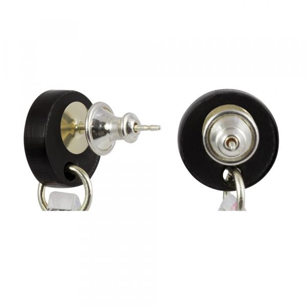 toolally_Bullet_Silver_earring