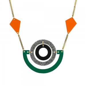 Boatman necklace Emerald