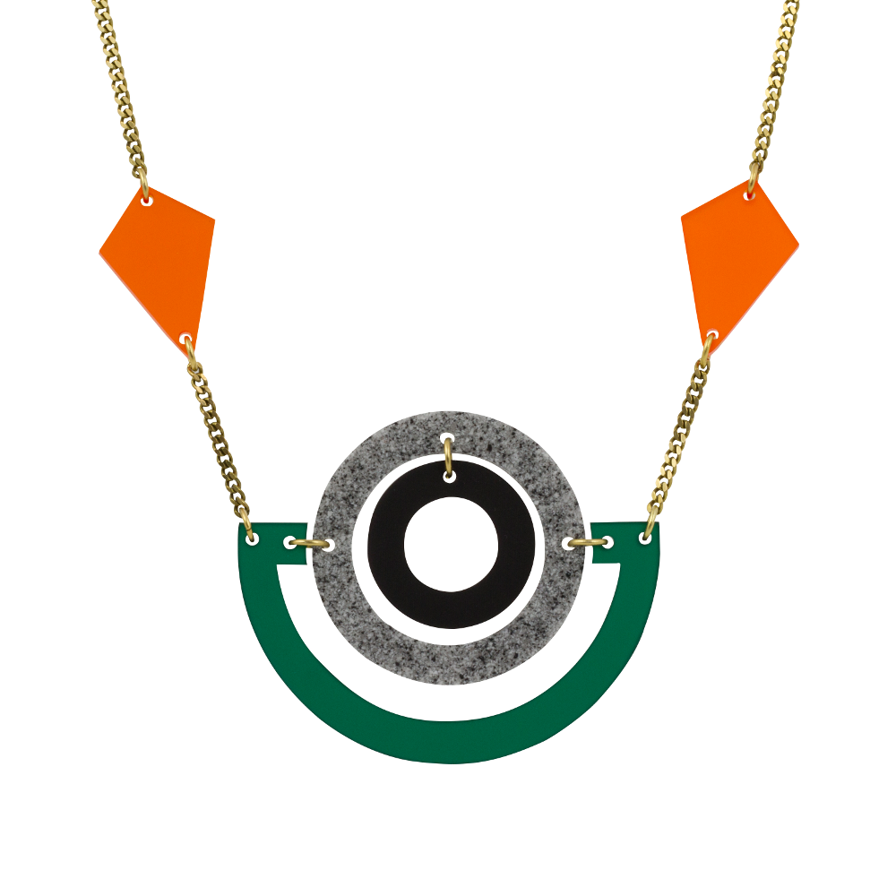 Toolally Statement Necklaces - Boatman Emerald