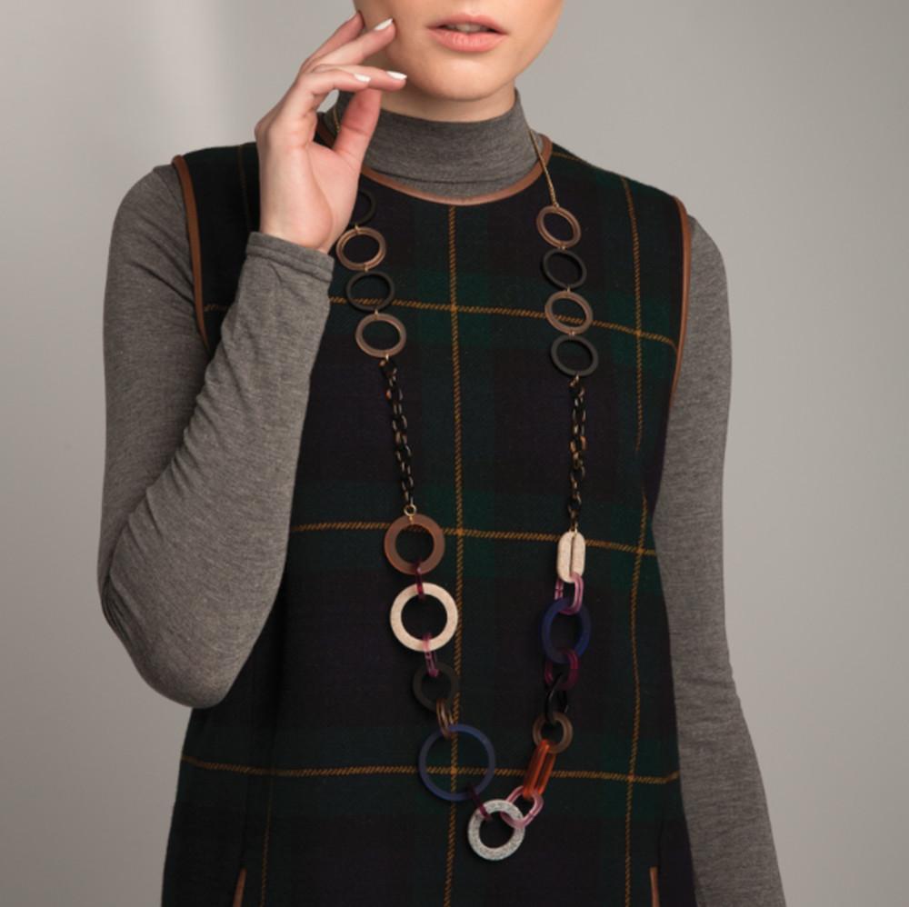 Toolally_Links_long_Tortoiseshell_necklace