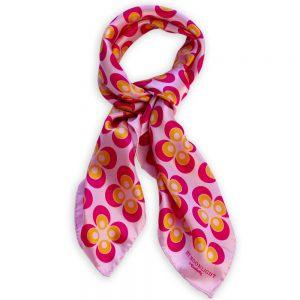 By Moonlight Scarf - Hot Pink & Mandarin, Blush