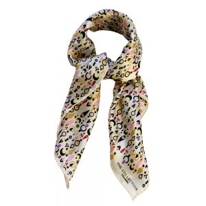 The Collection Scarf - Cream