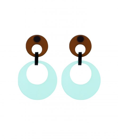 Toolally Swinging Circles Arctic Blue