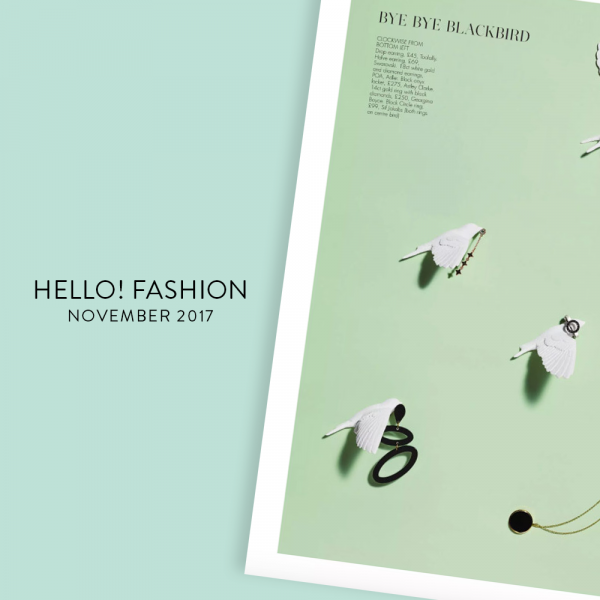 HELLO FASHION - NOVEMBER 2017 | Ellipses, Black - Toolally