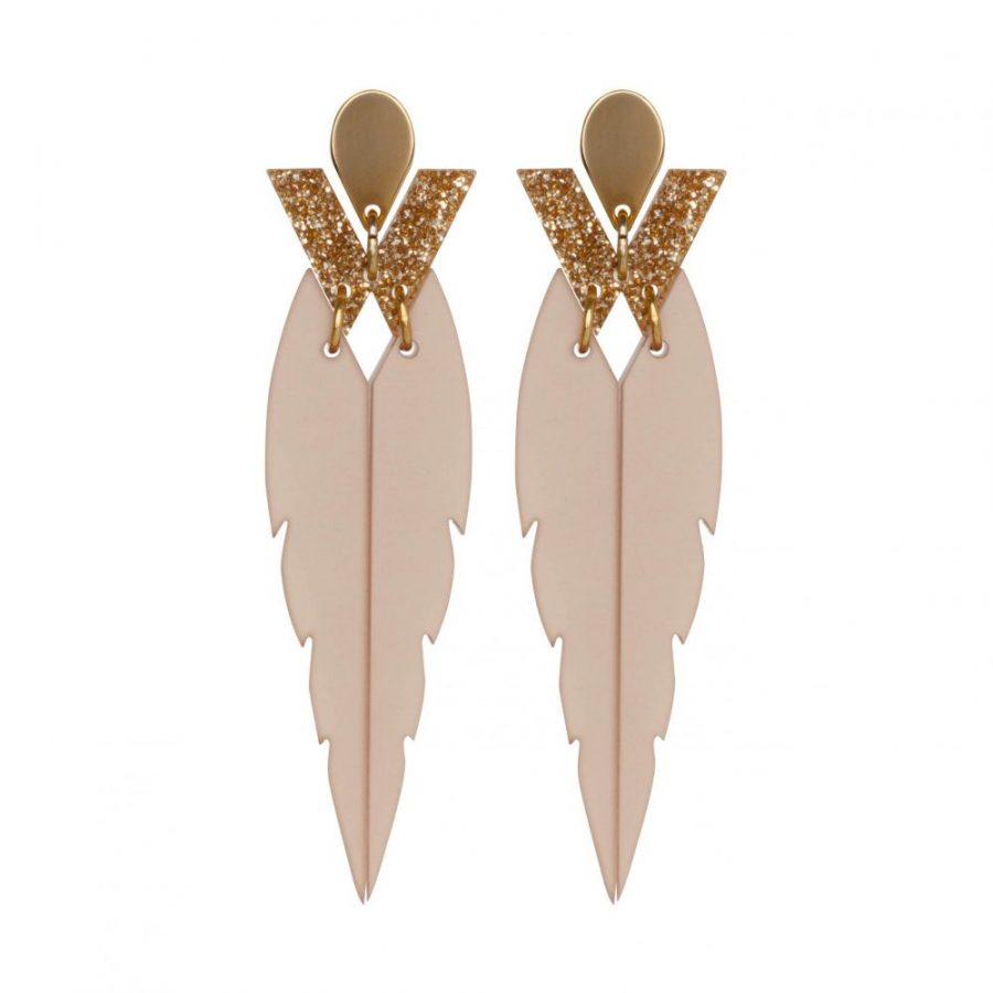 Toolally Kingfishers Nude Glitter