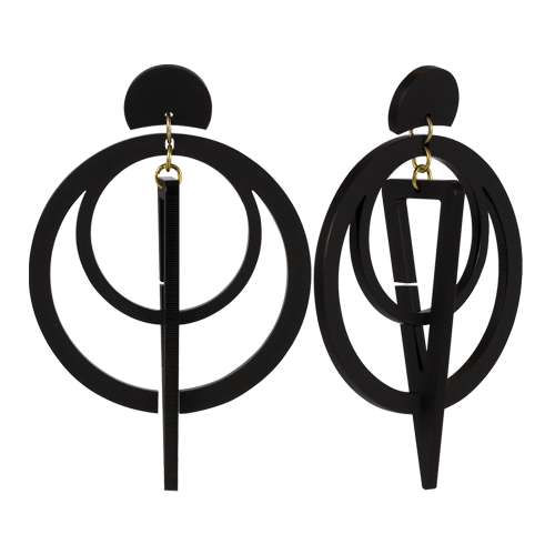 toolally_luxe_sundials_black_earrings_product