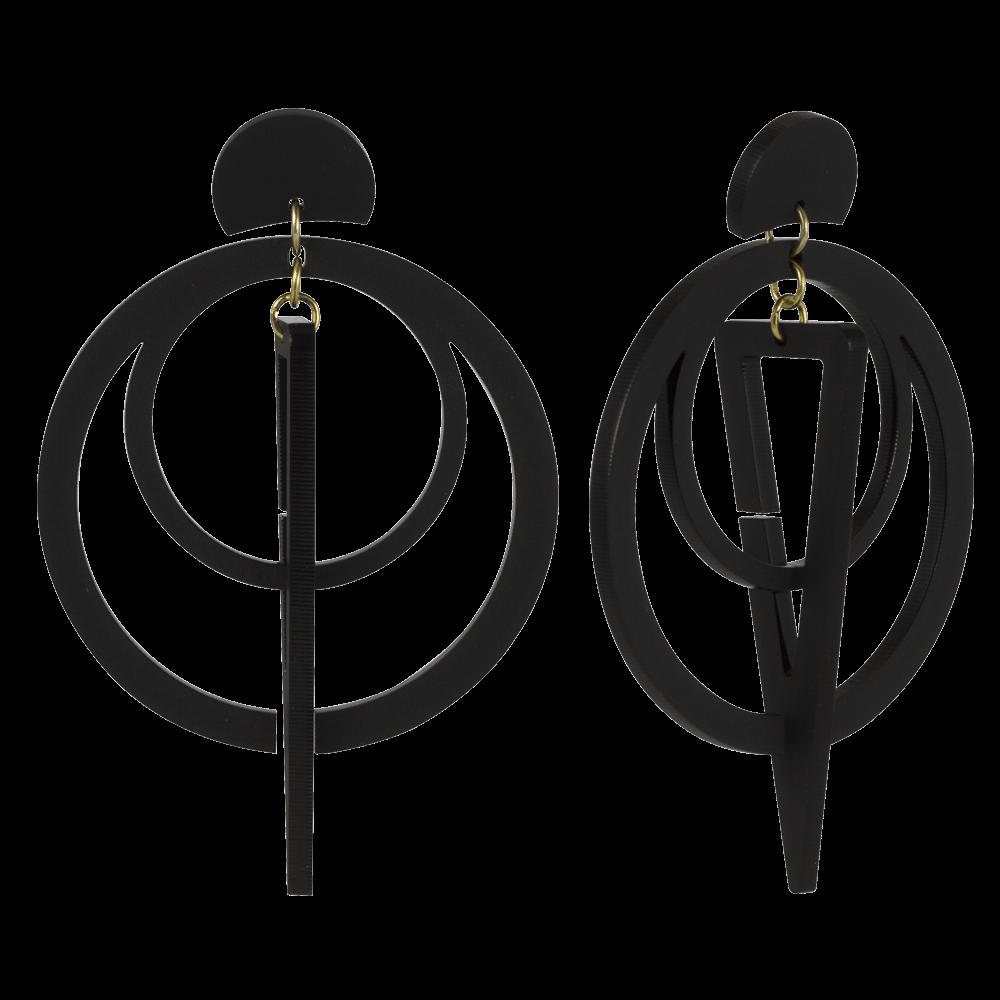 Sundials, Black - Toolally - 1000x1000