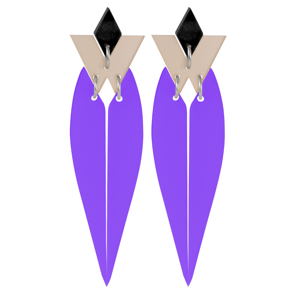 HRH - Violet - Toolally Jewellery