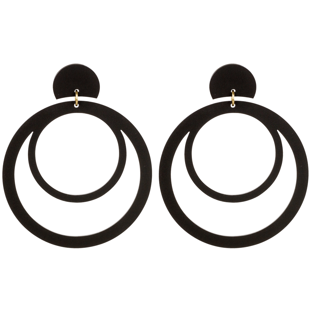 Hoops, Black - Toolally