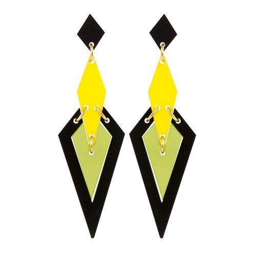 Iris Earrings in Citrus 1000x1000 - Toolally