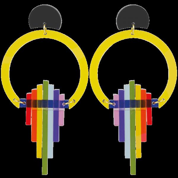 Rainbow Hoop Drops, Sunshine Yellow 1000x1000 - Toolally