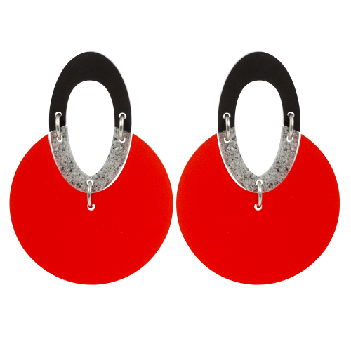 Discs Chilli Red