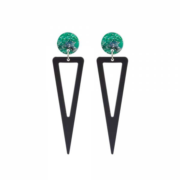 toolally_luxe_ice_drop_green_earring_product