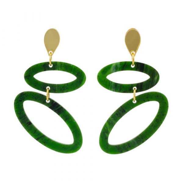 Toolally ellipses in jade product image