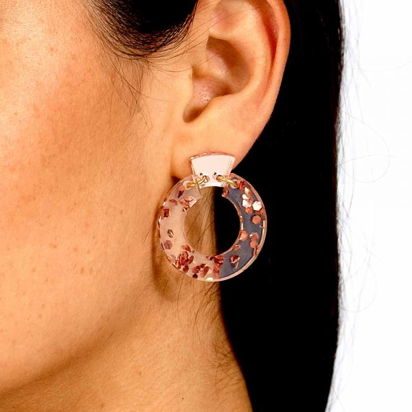 Toolally_Petite_Shift_Hoops_Rose_Gold_Lifestyle