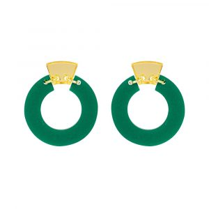 Toolally_Petite_Shift_Hoops_Royal_Green