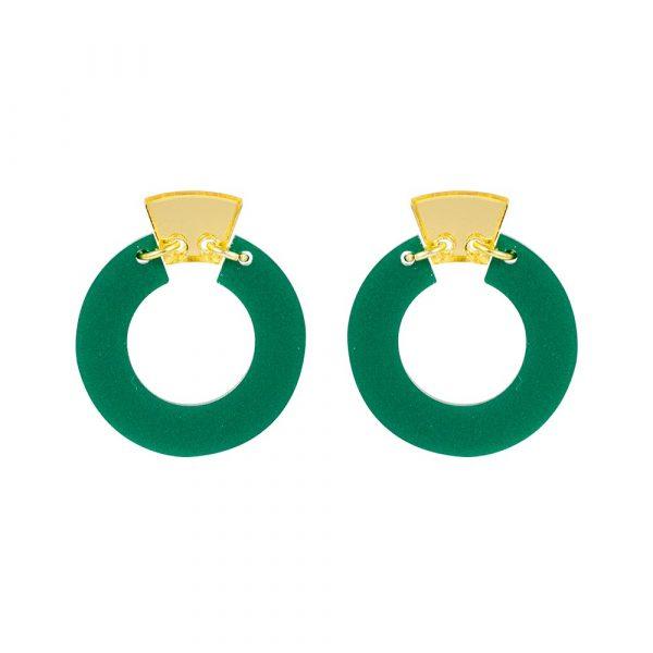 Toolally_Petite_Shift_Hoops_Royal_Green