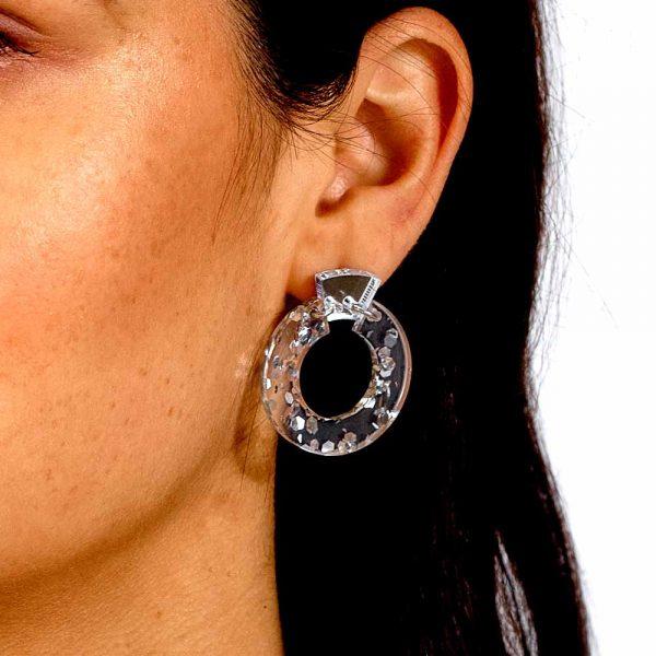 Toolally_Petite_Shift_Hoops_Silver