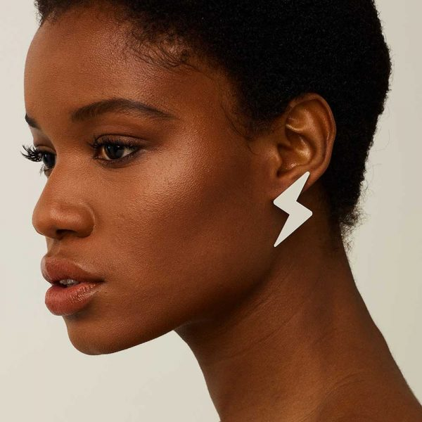 Toolally_everyday_bolts_ash_grey_earring