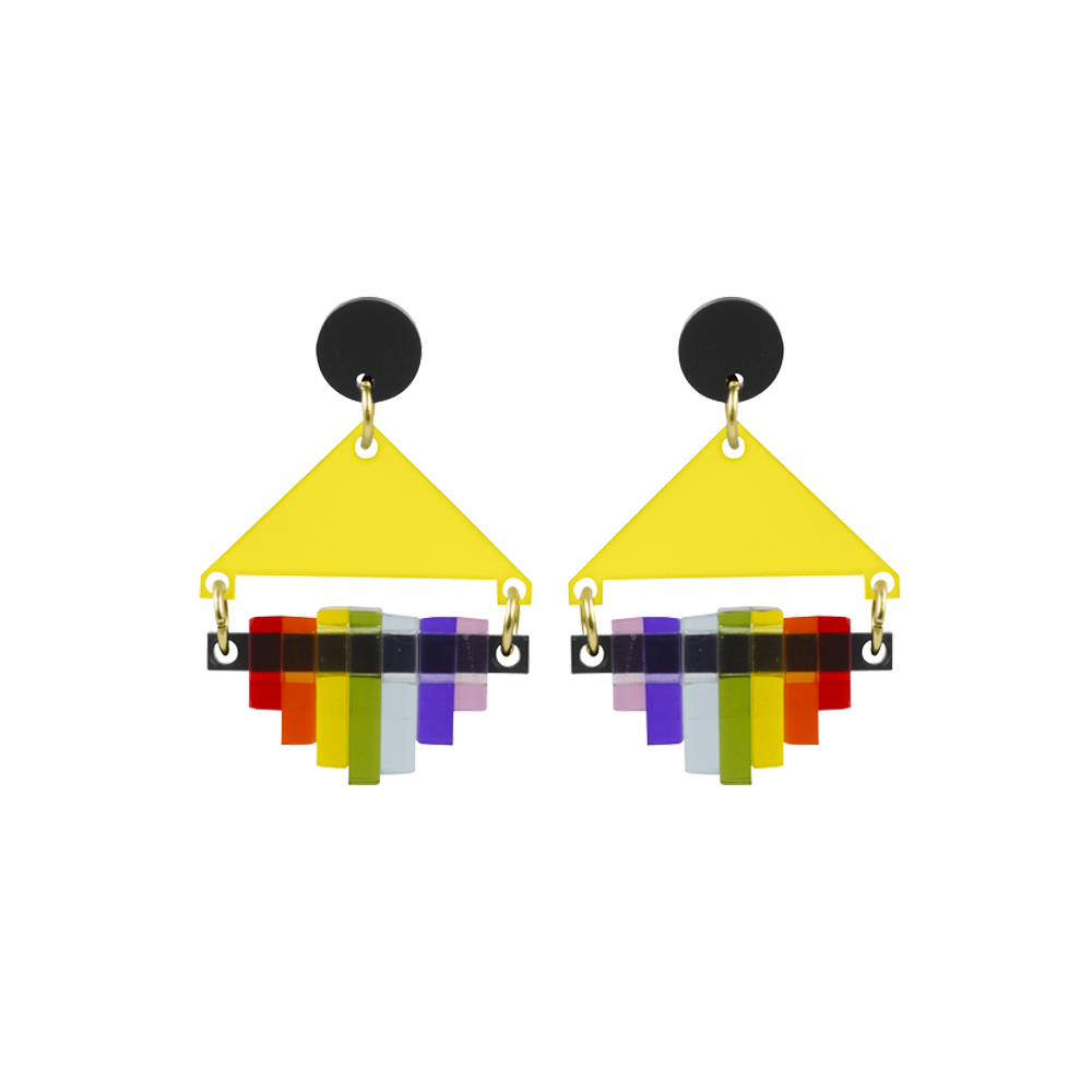 toolally_rainbow_sunshine_yellow_earring_product