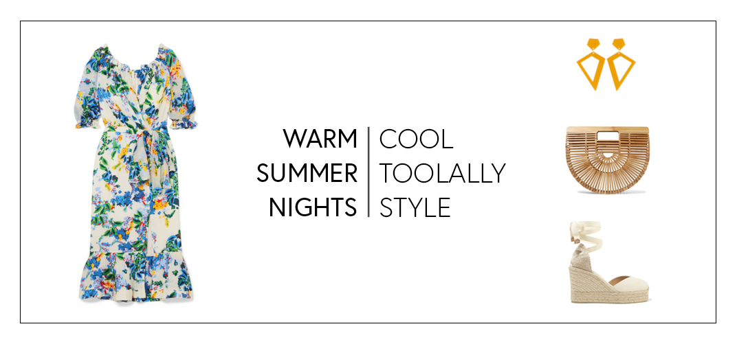 warm summer nights, cool toolally style blog banner