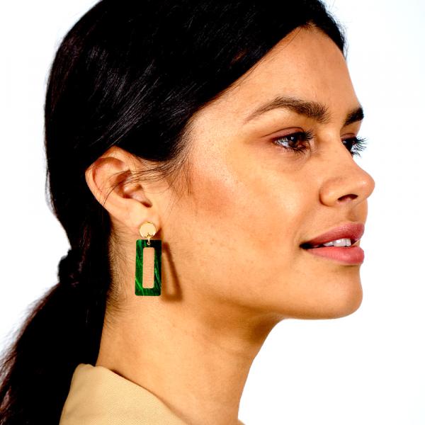Toolally Luxe Petite Hemingway Jade Marble