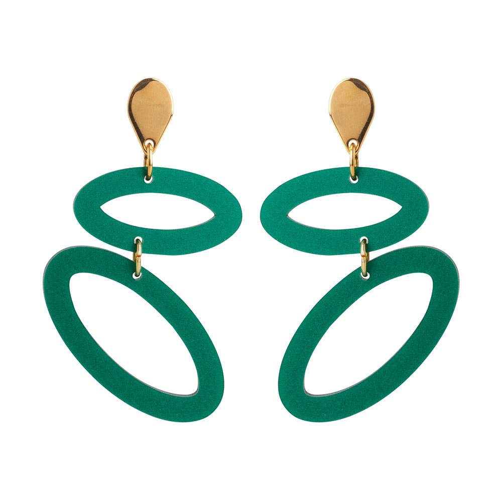 Toolally Ellipses Royal Green