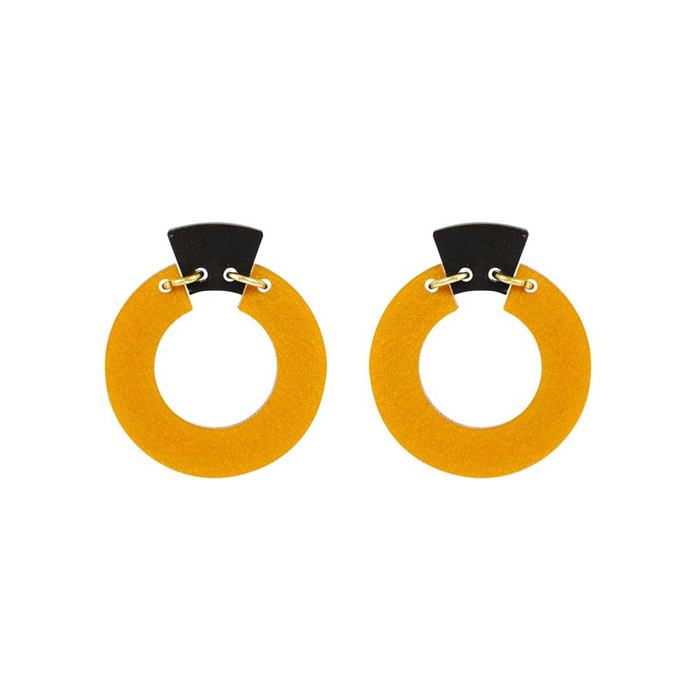 Toolally_Petite_Shift_Hoops_earrings_in_Royal_Gold