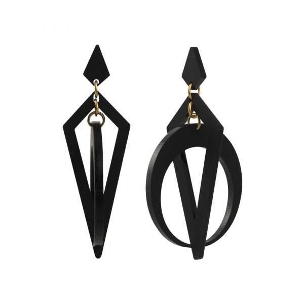 Toolally_Classic_Crescent_Hoops_Black