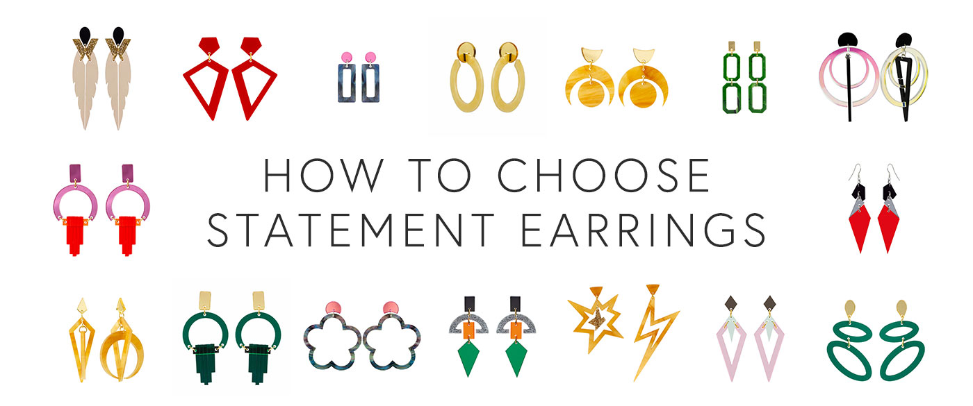 How To Choose Statement Earrings