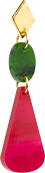 Toolally_Chandelier_Drops_in_Cerise_and_Jade
