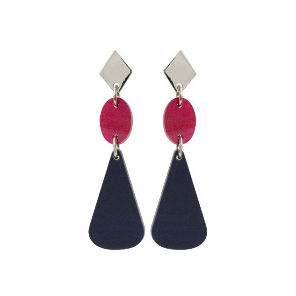 Toolally_Chandelier_Drops_Navy_Pearl_Cerise_earring_product