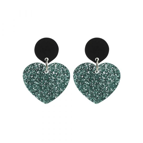toolally_love_hearts_earring_in_teal_glitter