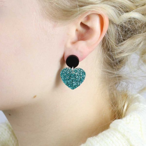 Toolally_Love_Hearts_in_Teal_Glitter