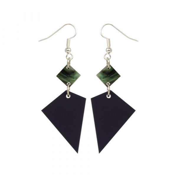 Toolally Recycled 15 - Navy and Abalone
