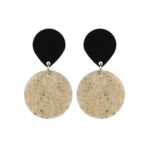 Toolally_Recycled_20_Stone_black_earring
