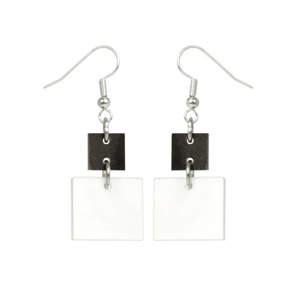 Toolally_Recycled_27_whitemarble_smokey_marble_earring