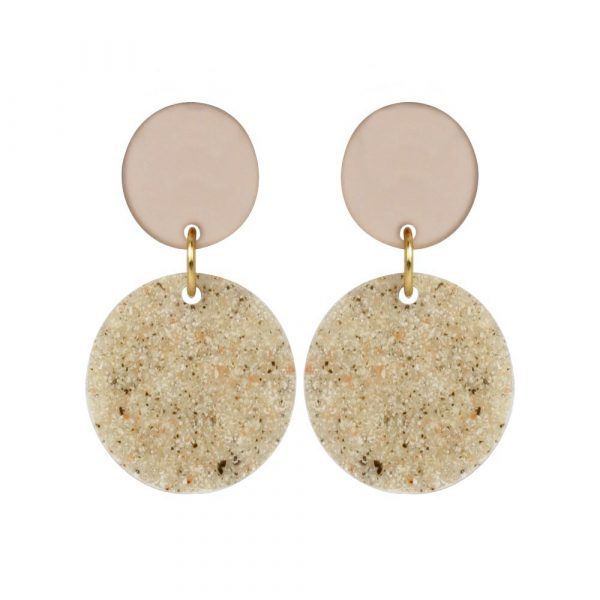 Toolally_Recycled_23_stone_nude_earring