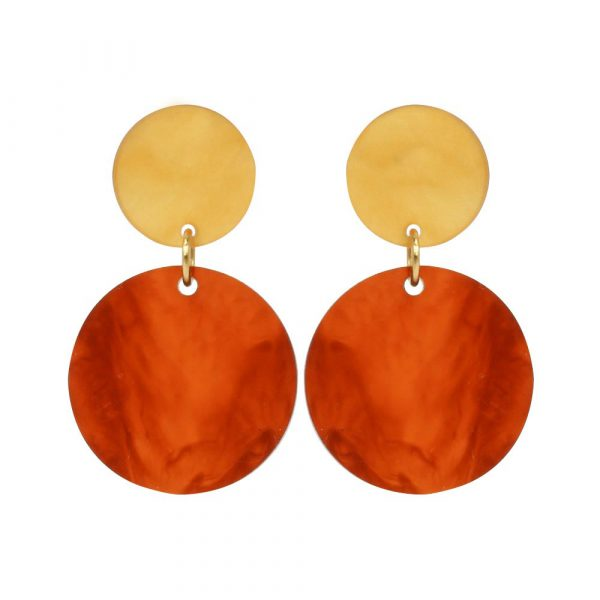 Toolally_Recycled_24_Tortoiseshell_mica_earring