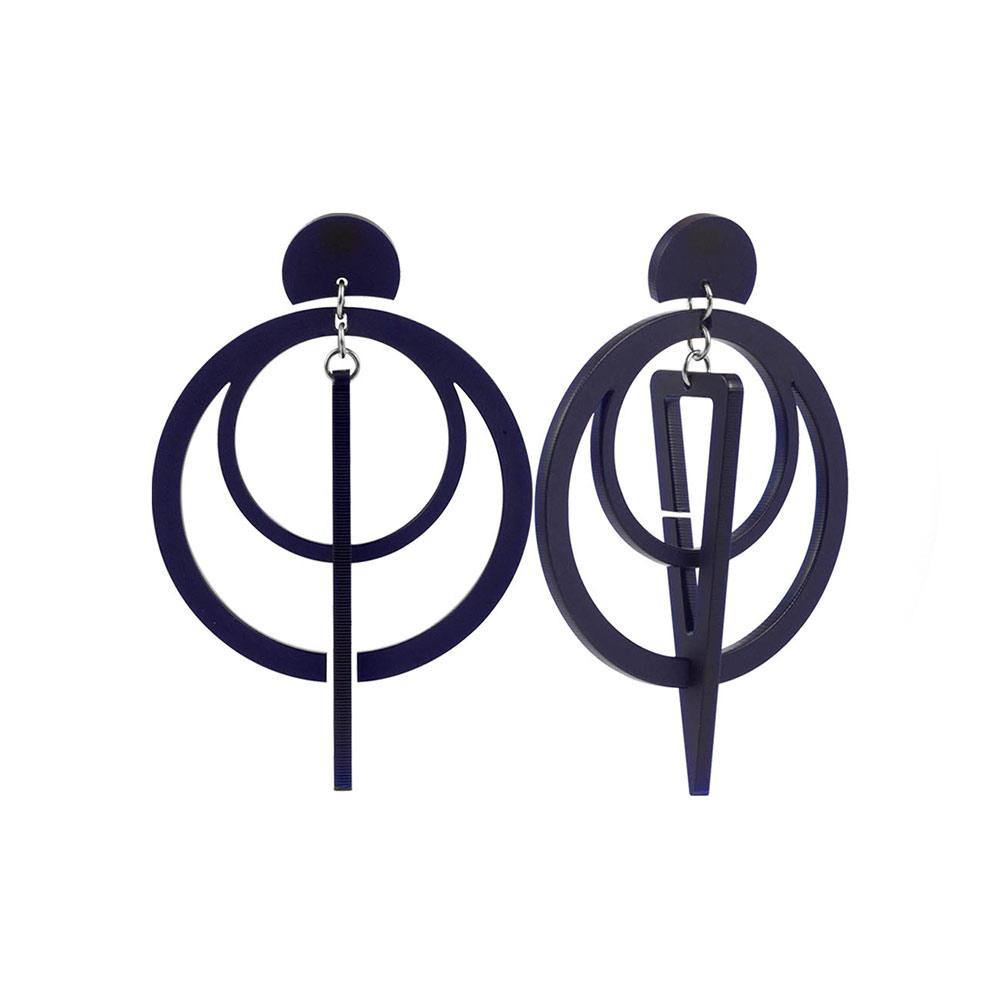 Toolally Sundials Navy