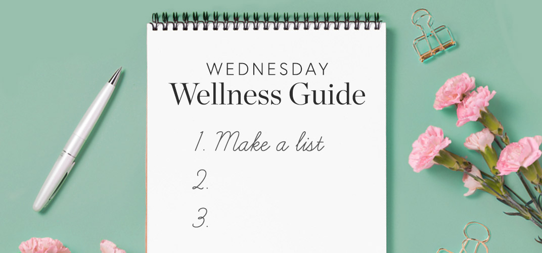 Wednesday Wellness Guide- Spring Cleaning and Home Organising