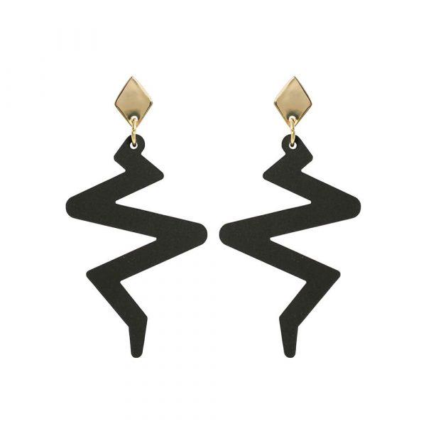 Toolally Beats Earrings Black Product Image