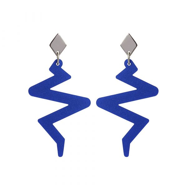 Toolally Beats Earrings Blue Product Image
