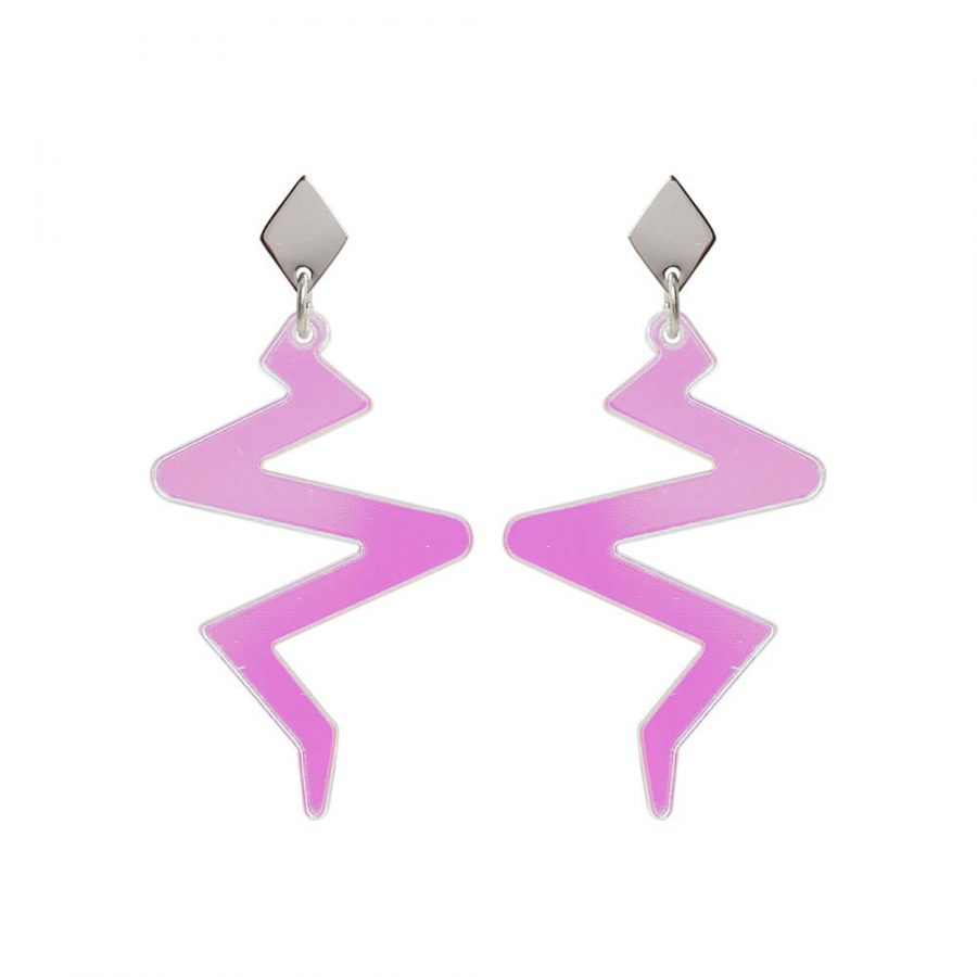 Toolally Beats Earrings Iridescent Product Image