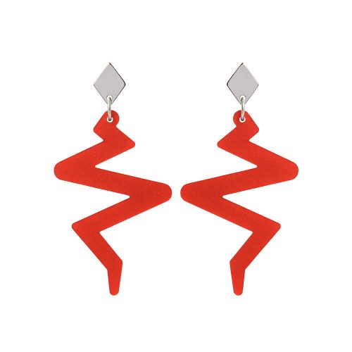 Toolally Beats Earrings Red Product Image