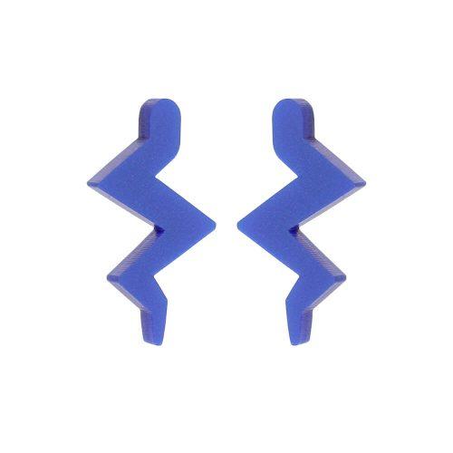 Toolally Mini Beats Earrings Blue Product Image