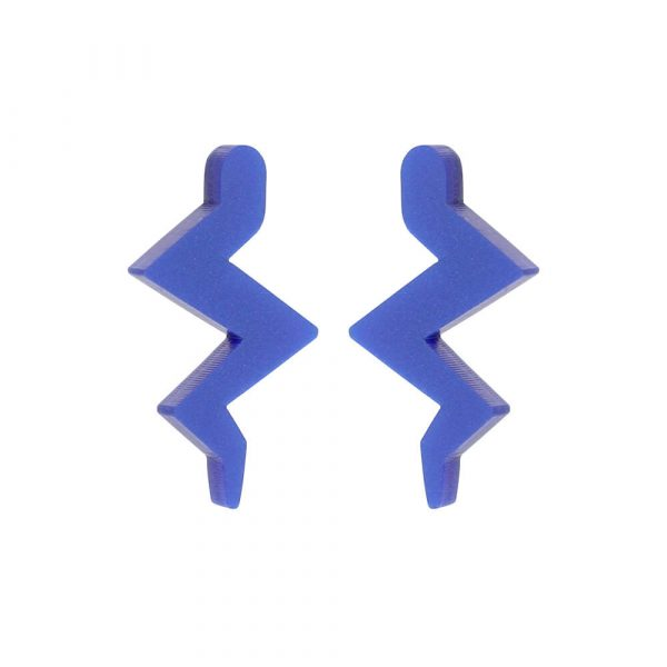 Toolally Mini Beats Earrings Blue Product Image