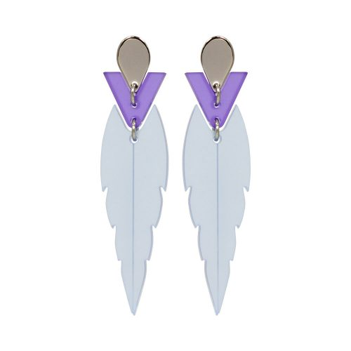 Toolally Mini Kingfishers Earrings Blue Product Image
