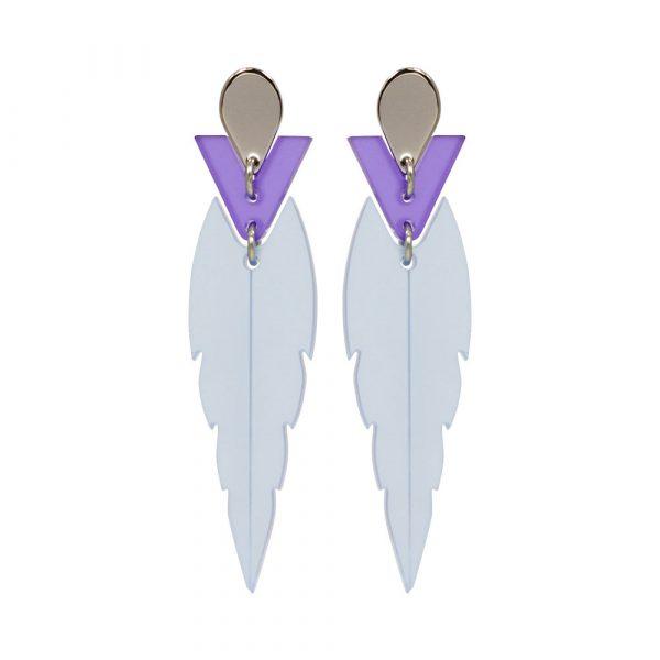 Toolally Mini Kingfishers Earrings Blue Product Image